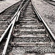 Railroad Switch Art Print