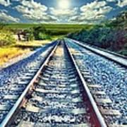 Railroad To Heaven Art Print