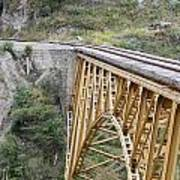 Railway Bridge Art Print