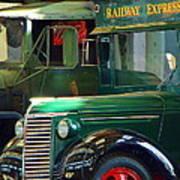 Railway Express Art Print