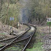 Railway Line Art Print