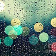 Rain And The City Art Print