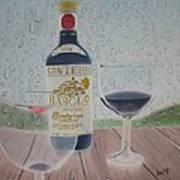 Rain And Wine Art Print