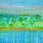 Rain  Original Contemporary Acrylic Painting On Canvas Art Print
