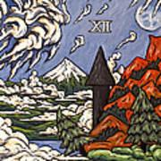 Stormy Noon Art Print