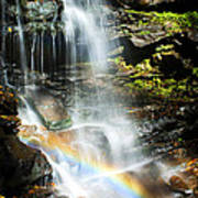 Rainbow And Falls Art Print
