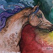 Rainbow Arabian Art Print