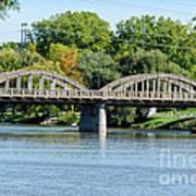 Rainbow Arch Bridge Art Print