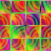 Rainbow Bliss 3 - Over The Rainbow H Art Print