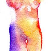 Rainbow Body Of Light Art Print
