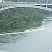 Rainbow Bridge Over Niagara Art Print