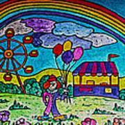 Rainbow Fair Art Print