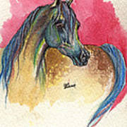 Rainbow Horse 2013 11 17 Art Print