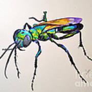 Rainbow Insect Art Print