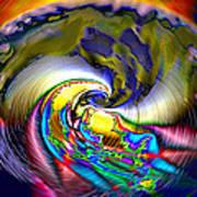 Rainbow Liberty V.5 Art Print