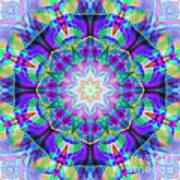 Rainbow Lotus Art Print