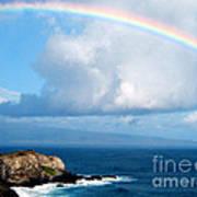 Rainbow Maui Hawaii Art Print