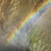 Rainbow Mist Art Print
