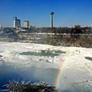 Rainbow Over Canada Art Print