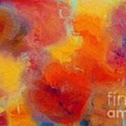 Rainbow Passion - Abstract - Digital Painting Art Print