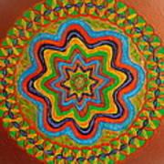 Rainbow Star Art Print