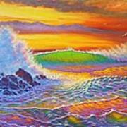 Rainbow Sunset II Art Print