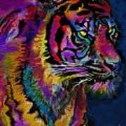 Rainbow Tiger Variant Art Print