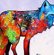 Rainbow Warrior - Fox Art Print
