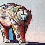 Rainbow Warrior-ice Bear Art Print