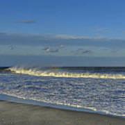 Rainbow Wave Seaside New Jersey Art Print
