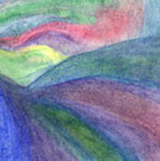Rainbow Way Art Print