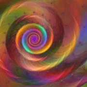 Rainbow Whispers Art Print