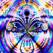Rainbows And Dragonflies Art Print