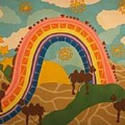 Rainbows Never End Art Print