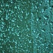 Raindrops On Window Iv Art Print