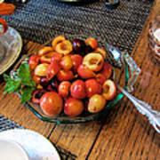 Rainier Cherries - Yummy Art Print