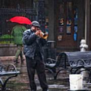 Rainy Day Blues New Orleans Art Print