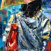Rainy Day People #3 Art Print
