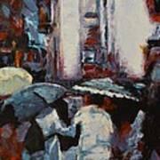 Rainy New York Art Print