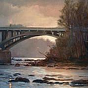 Rainy River Art Print