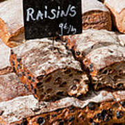 Raisin Bread Art Print