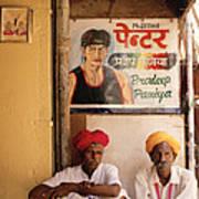 Life Of Rajasthan Art Print