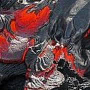 Raked Over The Coals Art Print