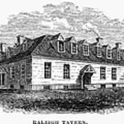 Raleigh Tavern, 1770s Art Print