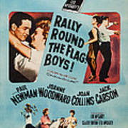 Rally Round The Flag, Boys, Us Poster Art Print