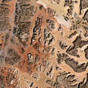 Ram Desert Transjordanian Plateau Jordan Art Print
