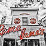Rama Jama's Art Print by Scott Pellegrin