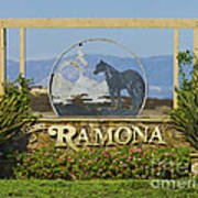 Ramona Welcome Art Print