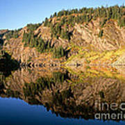 Rampart Ridge In Rachael Lake Art Print
