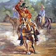 Ranch Rodeo Time Art Print